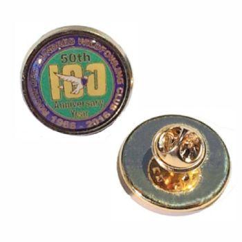 20mm premium gold badge